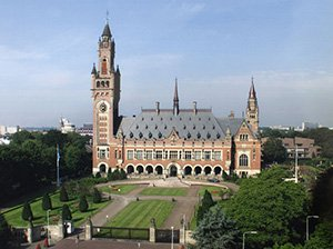 Peace Palace or the International Court of Justice the Hague