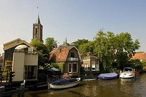 Loenen along the Vecht river