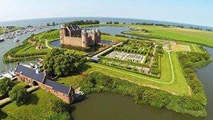 Amstel and Vecht river tours Muiderslot Amsterdam castle
