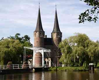 the nowadays view on Delft
