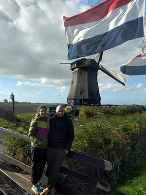 Dutch windmills tour